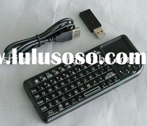 Mini Wireless USB Keyboard and mouse combo+free Laser pointer