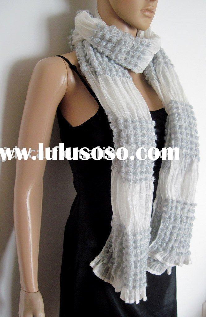 pashmina scarf with acrylic bulk ball pattern for sale  PriceChina  Pashmina Scarf Bulk