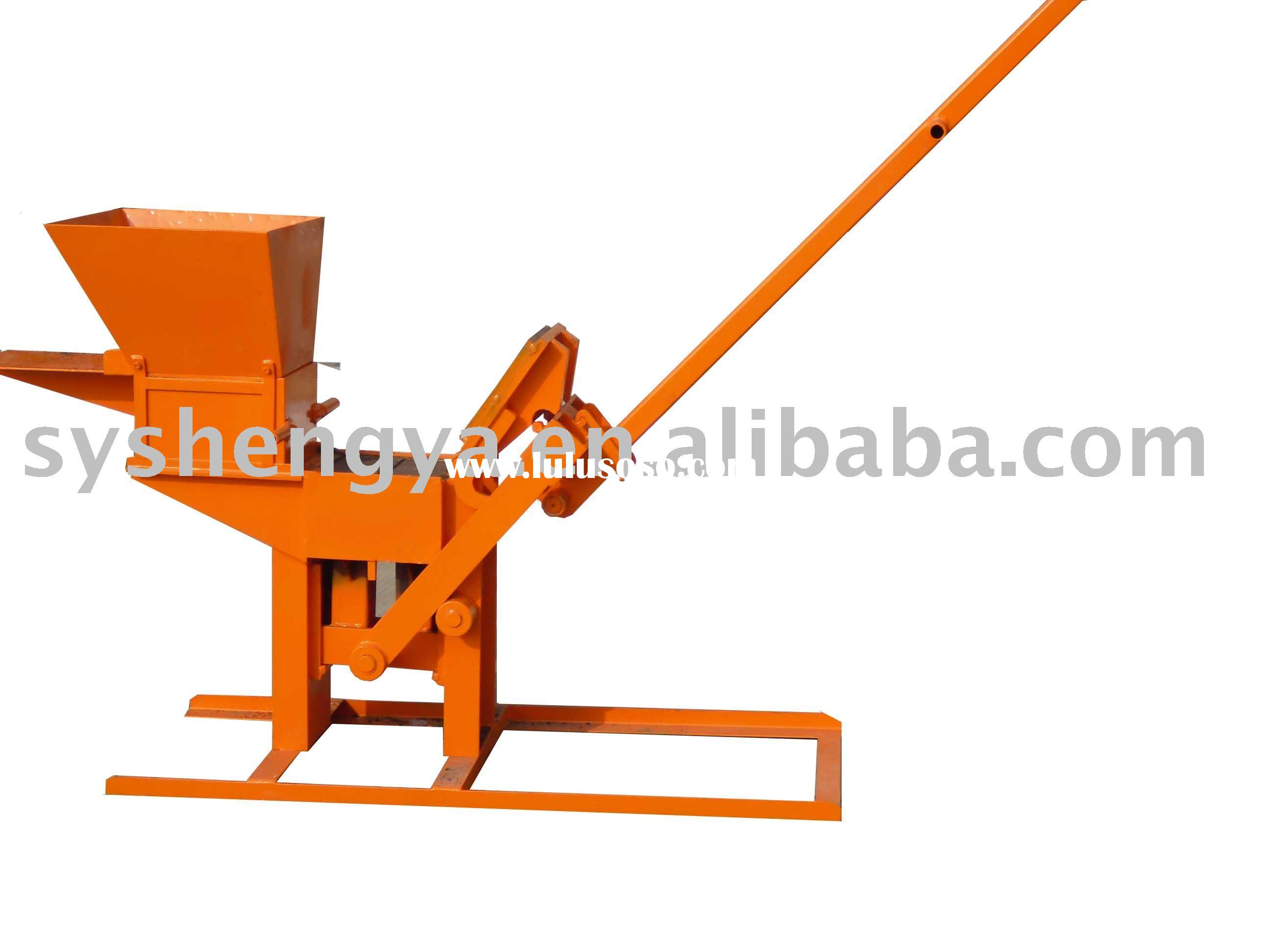 Small mud brick making machine(QMR2-40)