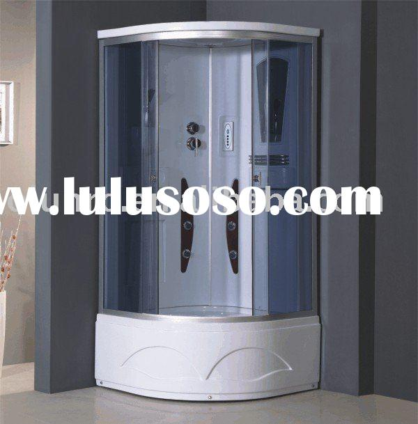 Computerized steam shower room, tempered glass shower cabin,steam shower cabinet,shower cubicle,spa
