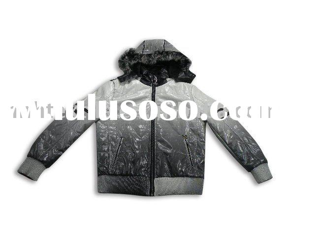 Mens high quality fashion leather jacket
