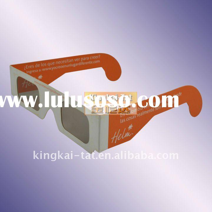 paper 3d glasses circular linear polarized