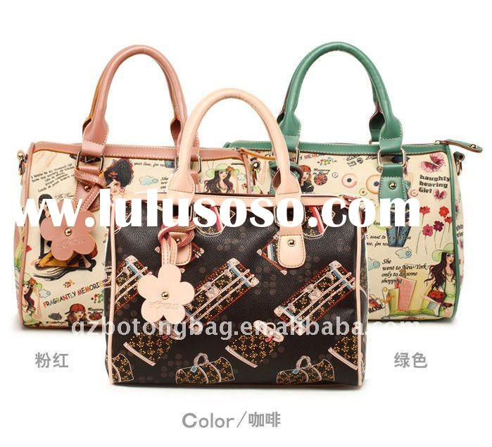 hotsale handbag fashion bag PU women handbag