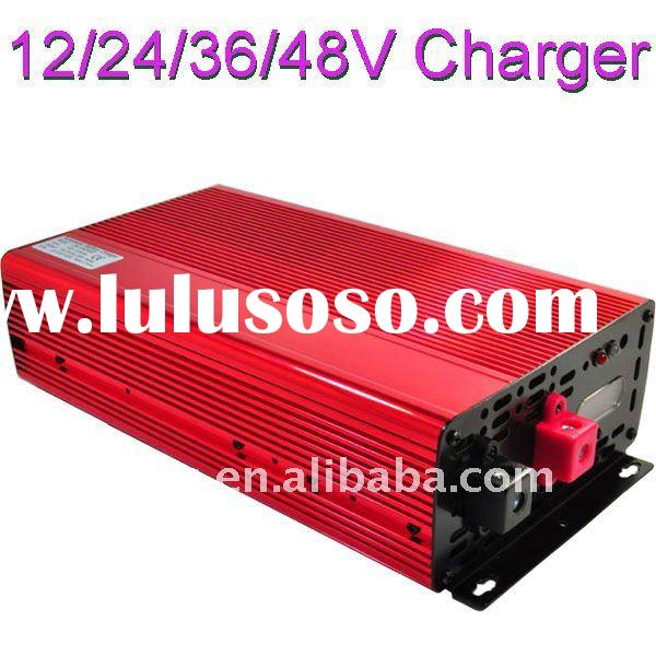 12V 24V 36V 48V 5A 10A 15A 25A Intellective LiFePO4 Battery Charger(made in taiwan)