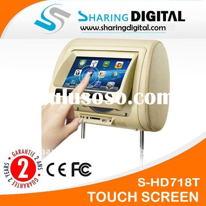 Sharing Digital Touch Screen Headrest Car DVD Players