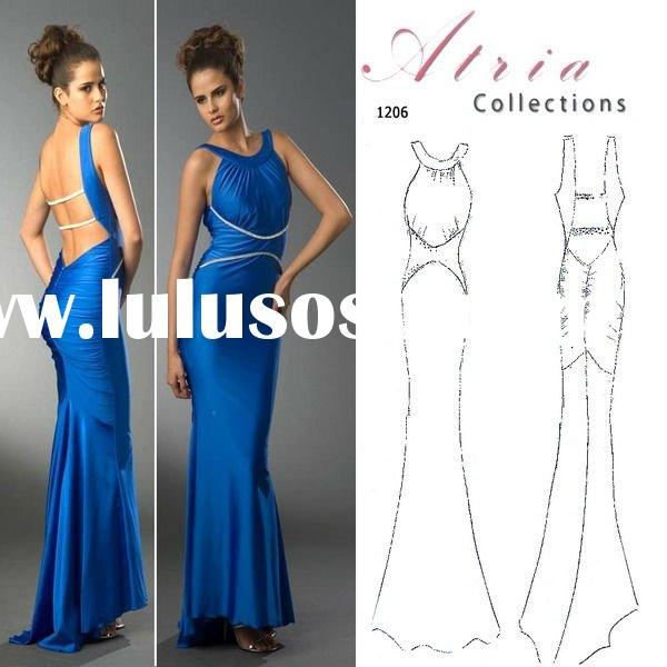 Sizes Available Modern Jewel Party Dresses Sheath Pleated Satin Floor Length Beautiful Prom Dresses
