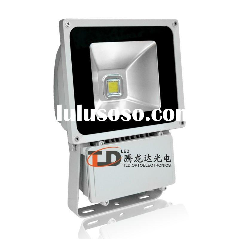 80W DMX RGB high power led flood light