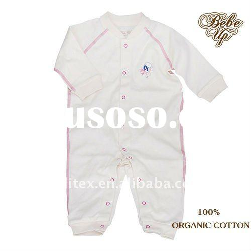 New Arrival 100% Organic Cotton Baby Romper Baby Clothes Children Clothing Kids Clothes