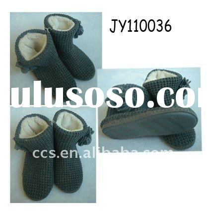 Fashionable knitted boots
