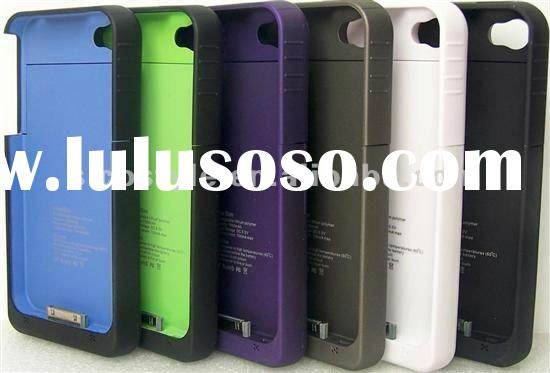 External Recharge 1900mAh i-Phone 4G/4S Juice Pack Plus Mobile Accessories Battery Extender