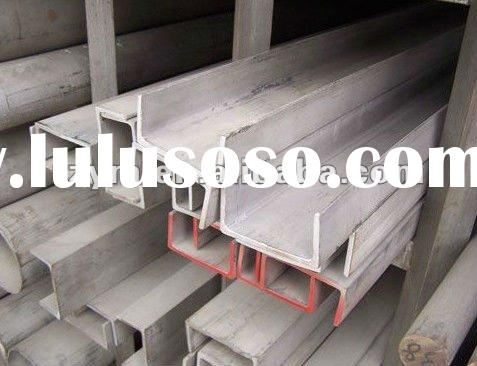 Hot rolled stainless steel 304 channels stainless steel channel bar