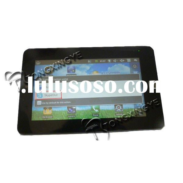 2012,tablet pc 7, mobile phone function,latop,tablet pc,skype call