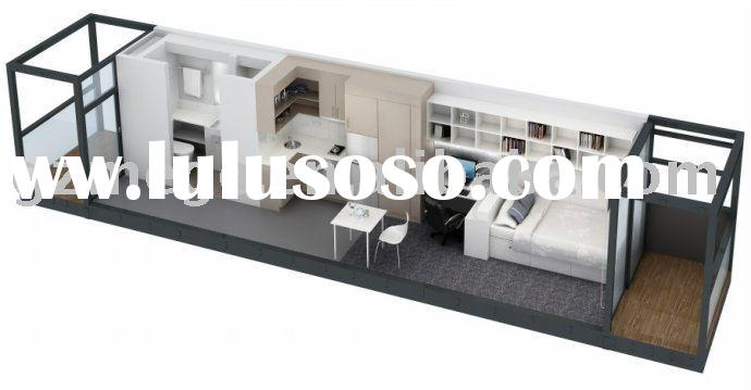 Prefab Home -- Modified Sea Container House