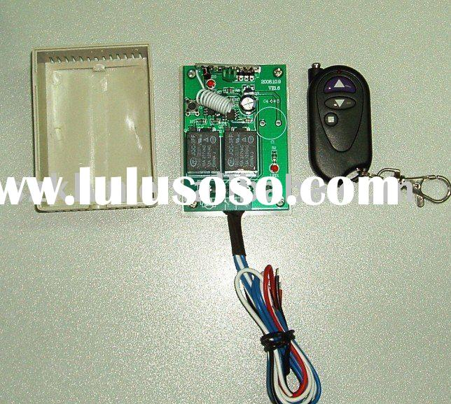 12V 2-channel wireless remote control switch for motors forwards/reverse