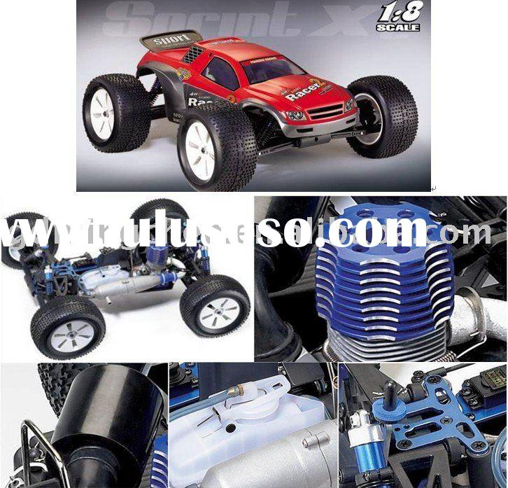 Remote control gas car