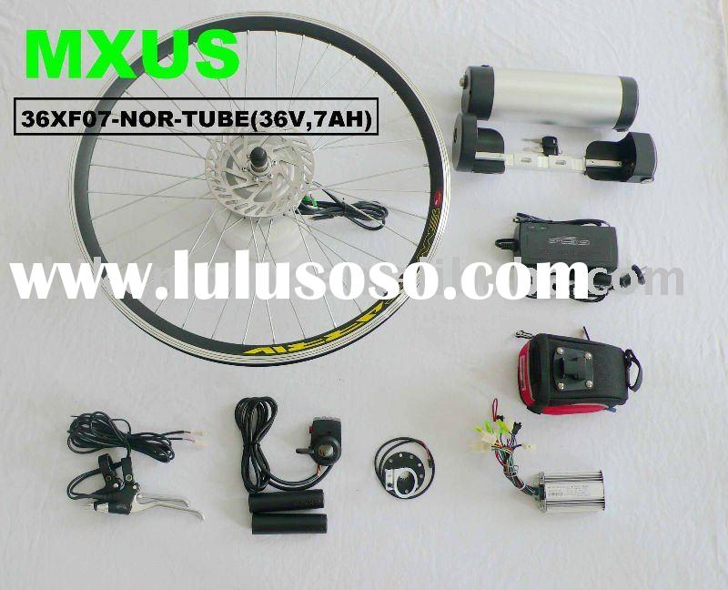 Ebike conversion kit,electric bicycle retrofit parts & DC brushless hub motor&lithium batter
