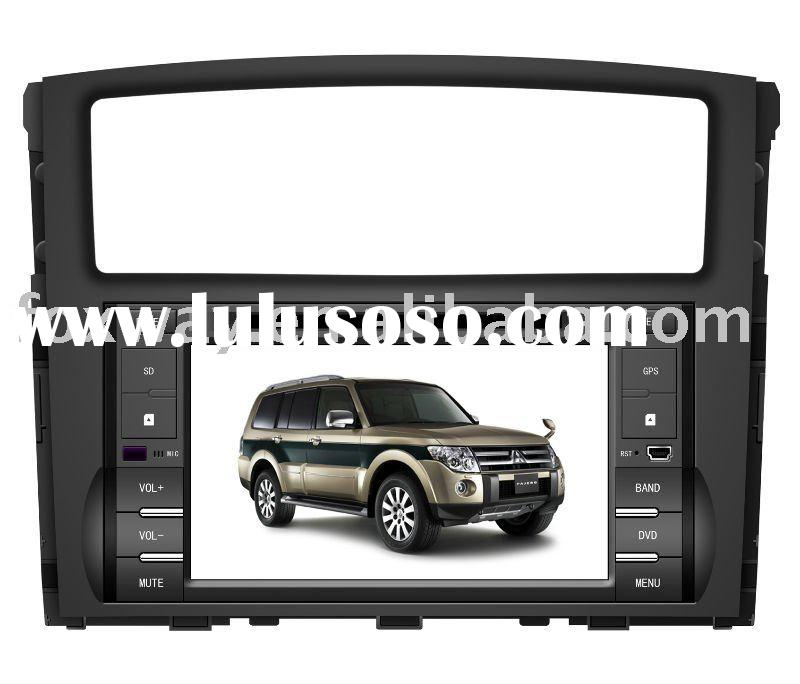 Mitsubishi Pajero car dvd GPS with HD screen