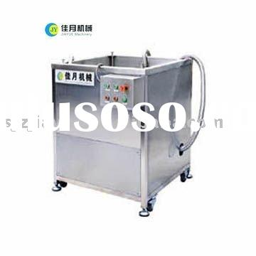 frying oil filter in food processing line