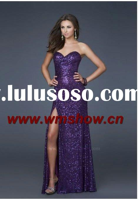 2012 Hot Sale Sweetheart Kids Girls Evening Dresses