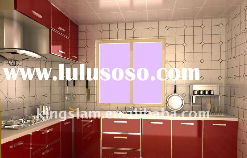 Modern Design Melamine Kitchen Cabinets For Project - AxSoris.