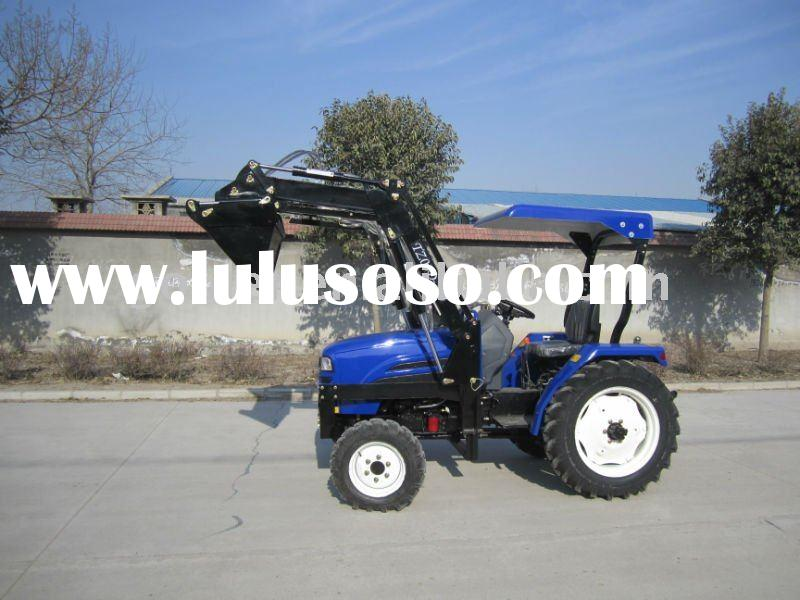 LZ284,28HP, 4WD small garden tractors fit with 4in1 front end loader, small garden tractor loader