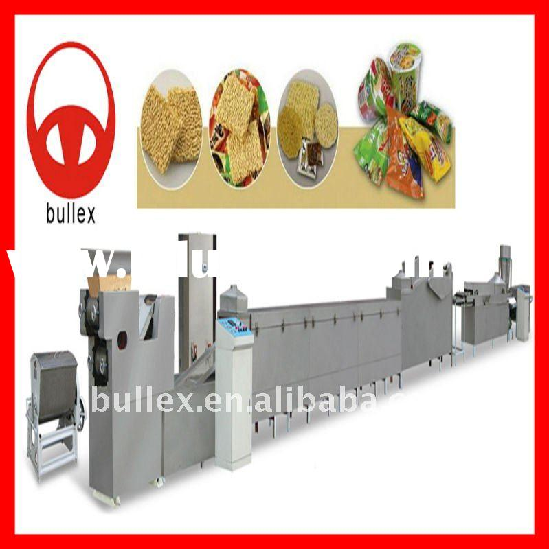 Mini fried instant noodle production line