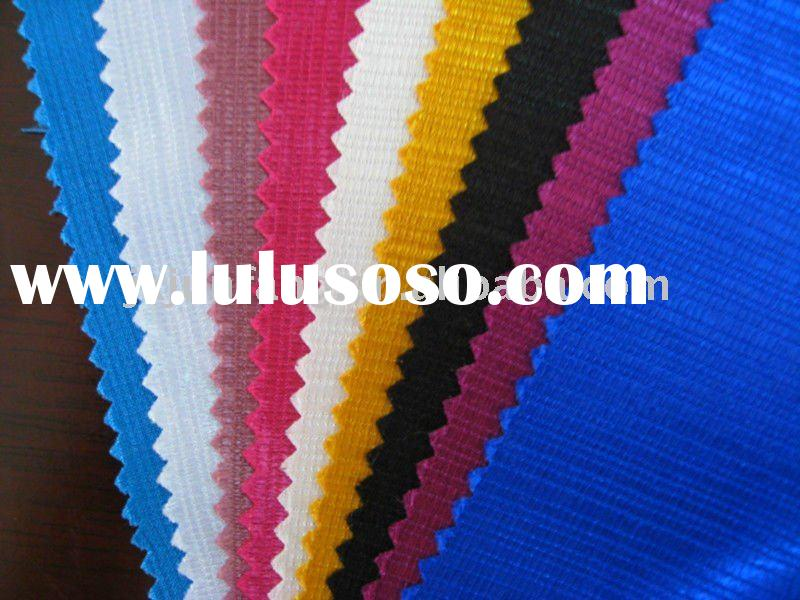 Polyester Stripe Satin Fabric For Home Upholstery