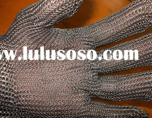safety gloves,steel mesh gloves,stainless steel mesh gloves