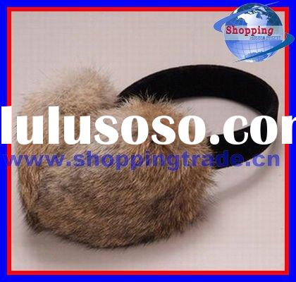 2012 rabbit fur ear muffs for sale