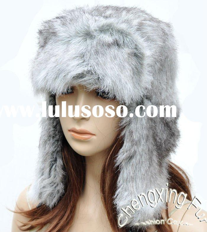 CX-C-55 Faux Fur Russian Ushanka Hat