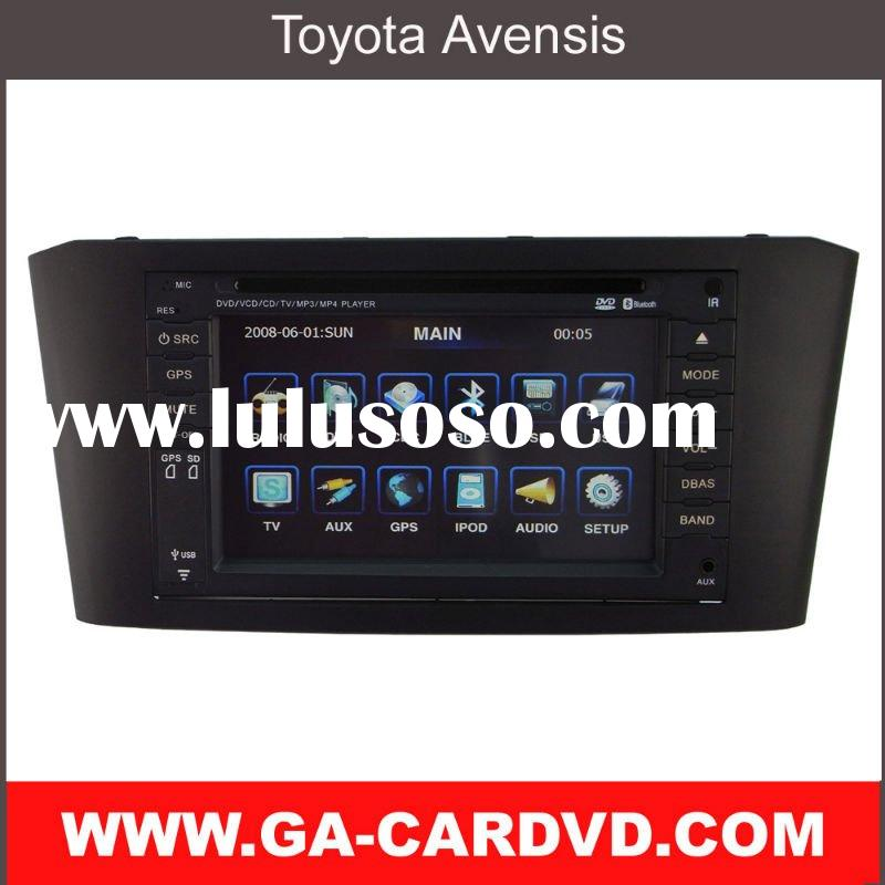 touch screen car dvd player for Toyota Avensis