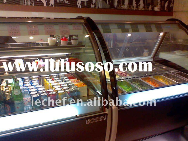 Ice Cream Displaying Cabinet