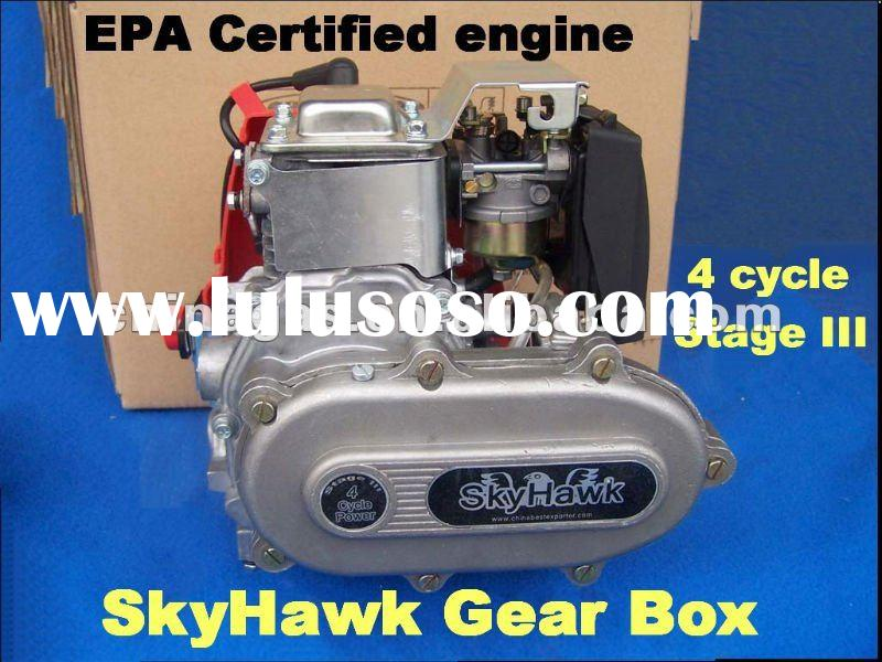 Motorized bicycle SkyHawk Stage III 49cc 4 cycle gas engine kit