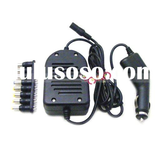 90W Universal Laptop Car DC Power Auto Charger Adapter