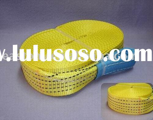 High Strength Polyester Webbing Sling for Ratchet Tie Down or Tow Straps