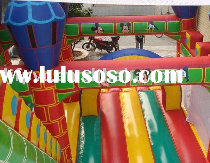 Inflatable Mickey Mouse slides,blow-up slides,inflatables,inflatable boncer,castle