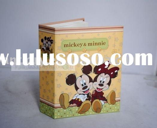 Mickey mouse 1-up paper box baby photo album