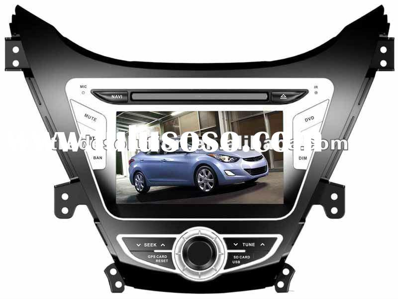 New Hyundai Elantra 2012 Car DVD Player with GPS ipod iphone Bluetooth Steering Wheel Control HD Scr