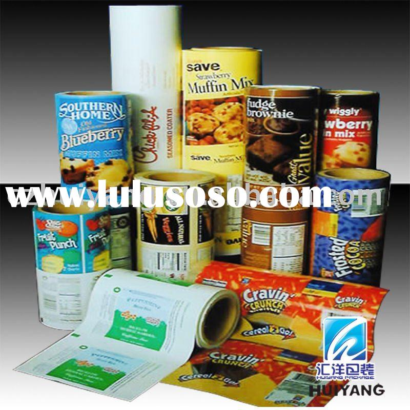 Plastic printed film for Dry Noodles bag Packaging material