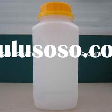 Wide mouth plastic chemical bottle