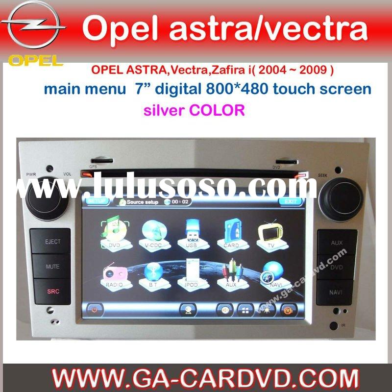 car gps navigation for OPEL Vectra with bluetooth\GPS\IPOS\RDS