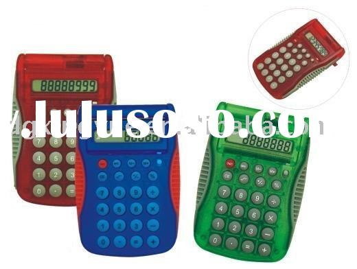 flip cover calculator/electronic calculator/pocket calculator