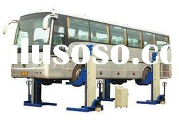 Four Post Bus Lift, car lift, auto lift, floor lift, bus mobile lift, 4 post lift