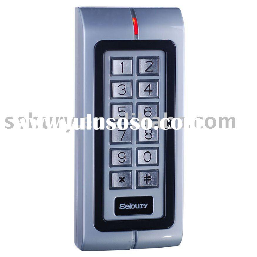 Waterproof-IP68 Metal shell Keypad access control system / RFID Proximity Card Reader W1