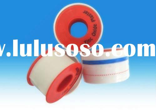 Zinc Oxide Adhesive Tape, Model GZT-B, Plastic Spool Package, Various Size, CE Approved
