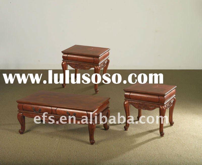 solid wood hand carved antique chinese tea table