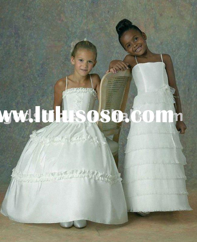 2011 Nice Formal Exquisite Flower Angel Girl Clothes Wedding Dress Gowns For Girls 0008(1)
