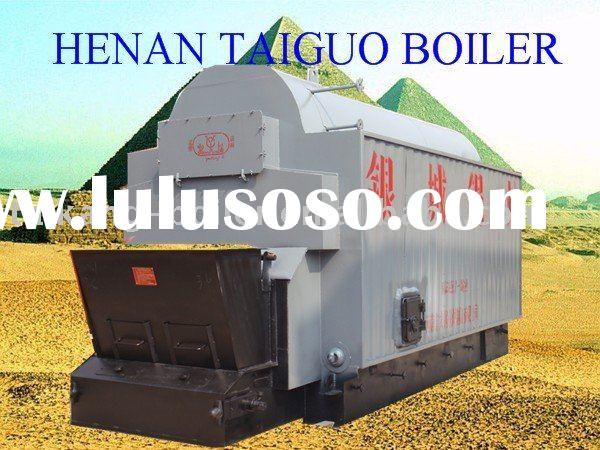2011 hot seller double drum coal fired steam boiler