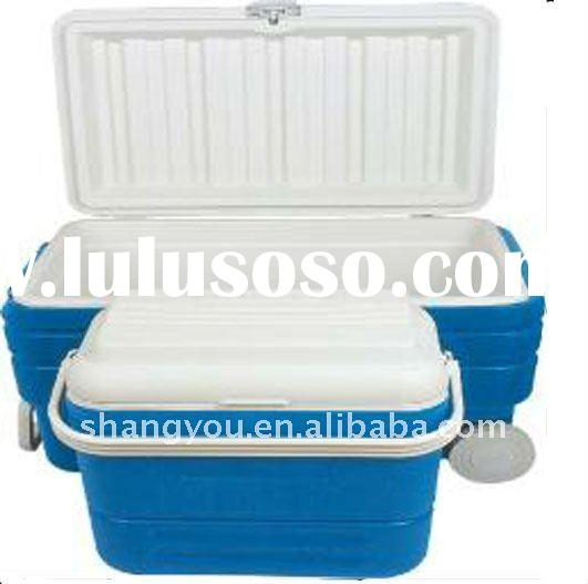 80L, 16L cooler box set cooler box with wheel