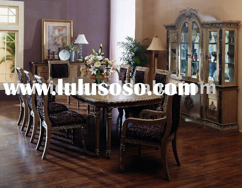 Classical dining room sets,dining table,dining chair,side chair,wine cabinet,American furniture